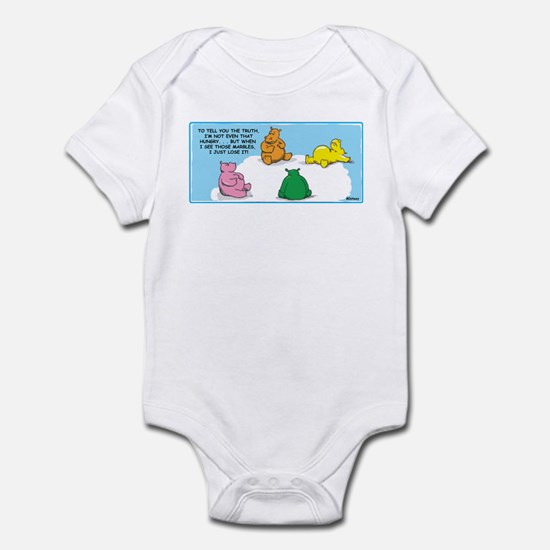 Hungry Hungry Hippo 80s Retro Infant Bodysuit