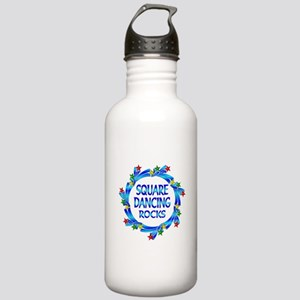 Square Dancing Rocks Stainless Water Bottle 1.0L
