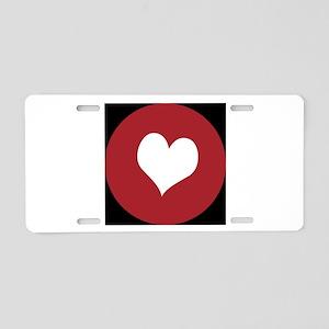 Hamburg heart Aluminum License Plate