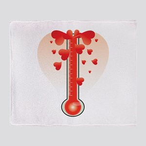 Hot Thermometer Throw Blanket
