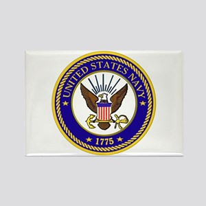 US Navy Emblem Rectangle Magnet