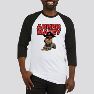 Pirate Wirehaired Dachshund Baseball Jersey