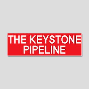 stop the keystone pipeline Car Magnet 10 x 3