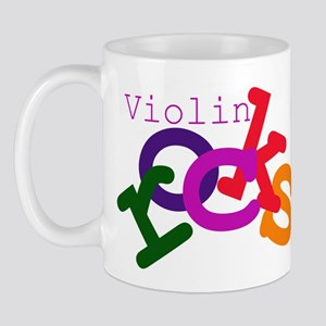 Violin Rocks Mug