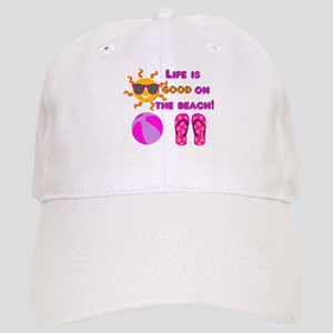 Life is good on the beach! Hat