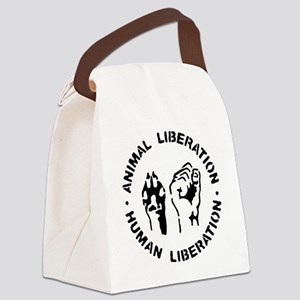 Animal Liberation Canvas Lunch Bag