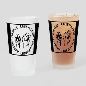 Animal Liberation Drinking Glass