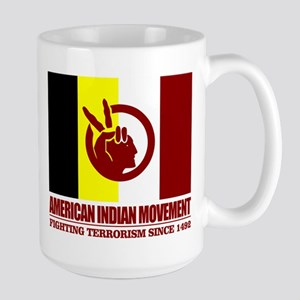 AIM (Fighting Terrorism Since 1492) Mugs