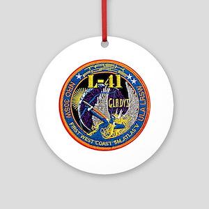 NROL-41 Launch Logo Ornament (Round)