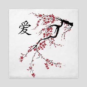 Cherry Blossom Queen Duvet