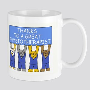 Physiotherapist Thanks Mugs