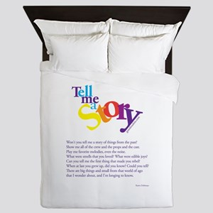 Tell me a story Queen Duvet
