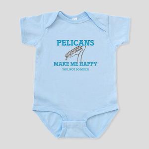 Pelicans Make Me Happy Body Suit