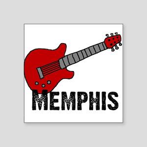 3-guitar_memphis Sticker