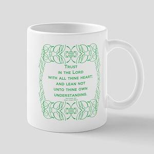 Proverbs 3:5 The Word Mug