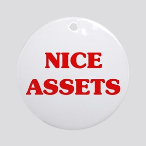 Nice Assets Ornament (Round)