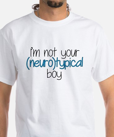 Not Neurotypical White T-Shirt