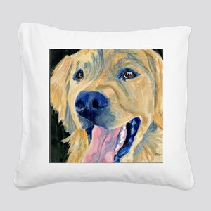 19C2014YOLO Learn Tricks Square Canvas Pillow
