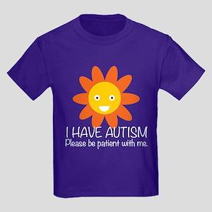 Cute Autism Kids Dark T-Shirt