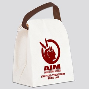 AIM (Fighting Terrorism Since 1492) Canvas Lunch B
