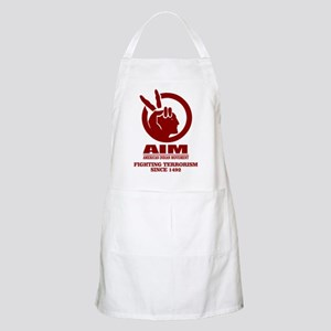 AIM (Fighting Terrorism Since 1492) Apron