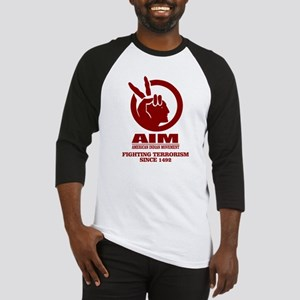 AIM (Fighting Terrorism Since 1492) Baseball Jerse
