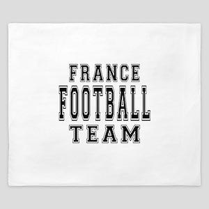 France Football Team King Duvet