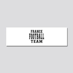 France Football Team Car Magnet 10 x 3