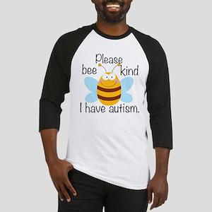 Autism Bee Baseball Jersey