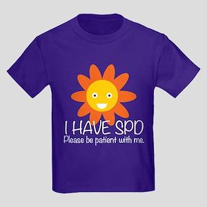 I Have SPD Kids Dark T-Shirt