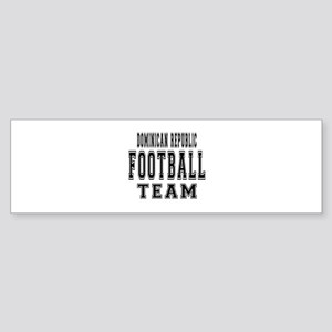 Dominican Republic Football Team Sticker (Bumper)