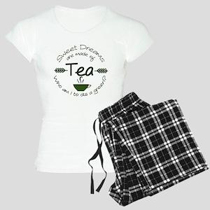 Sweet Dreams Green Pajamas