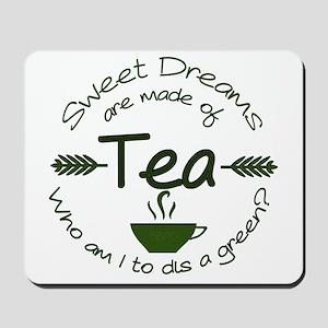 Sweet Dreams Green Mousepad