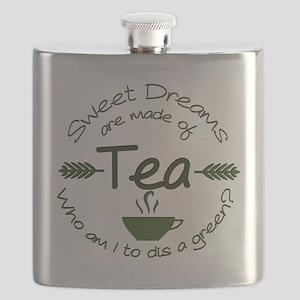 Sweet Dreams Green Flask