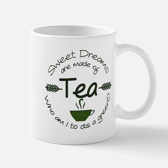 Sweet Dreams Green Mugs