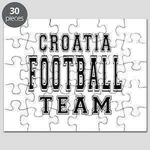 Croatia Football Team Puzzle