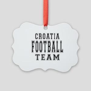 Croatia Football Team Picture Ornament