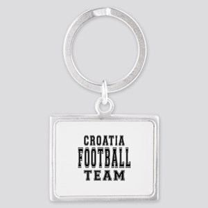 Croatia Football Team Landscape Keychain