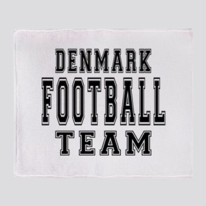 Denmark Football Team Throw Blanket