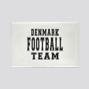 Denmark Football Team Rectangle Magnet