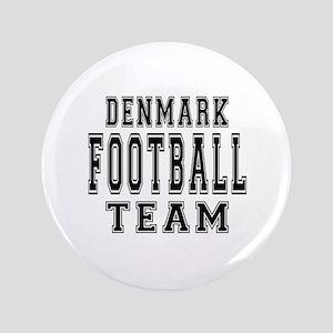 """Denmark Football Team 3.5"""" Button"""