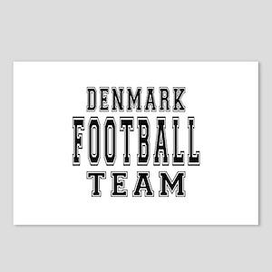 Denmark Football Team Postcards (Package of 8)