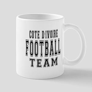 Cote DIvoire Football Team Mug