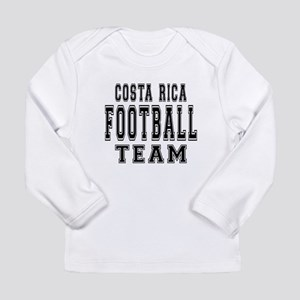 Costa Rica Football Tea Long Sleeve Infant T-Shirt