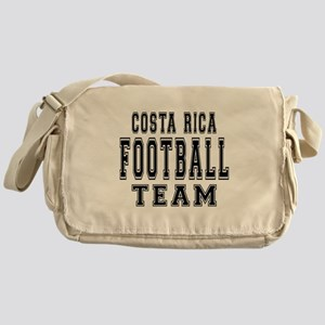 Costa Rica Football Team Messenger Bag