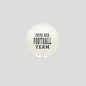 Costa Rica Football Team Mini Button