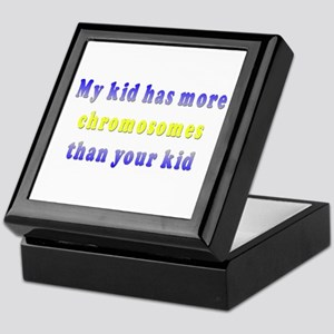 More Chromosomes Keepsake Box