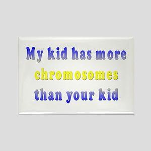 More Chromosomes Rectangle Magnet