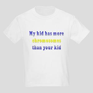 More Chromosomes Kids Light T-Shirt