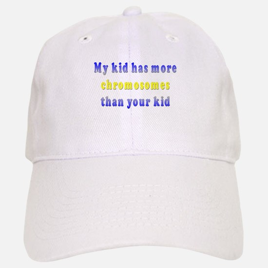 More Chromosomes Baseball Baseball Cap